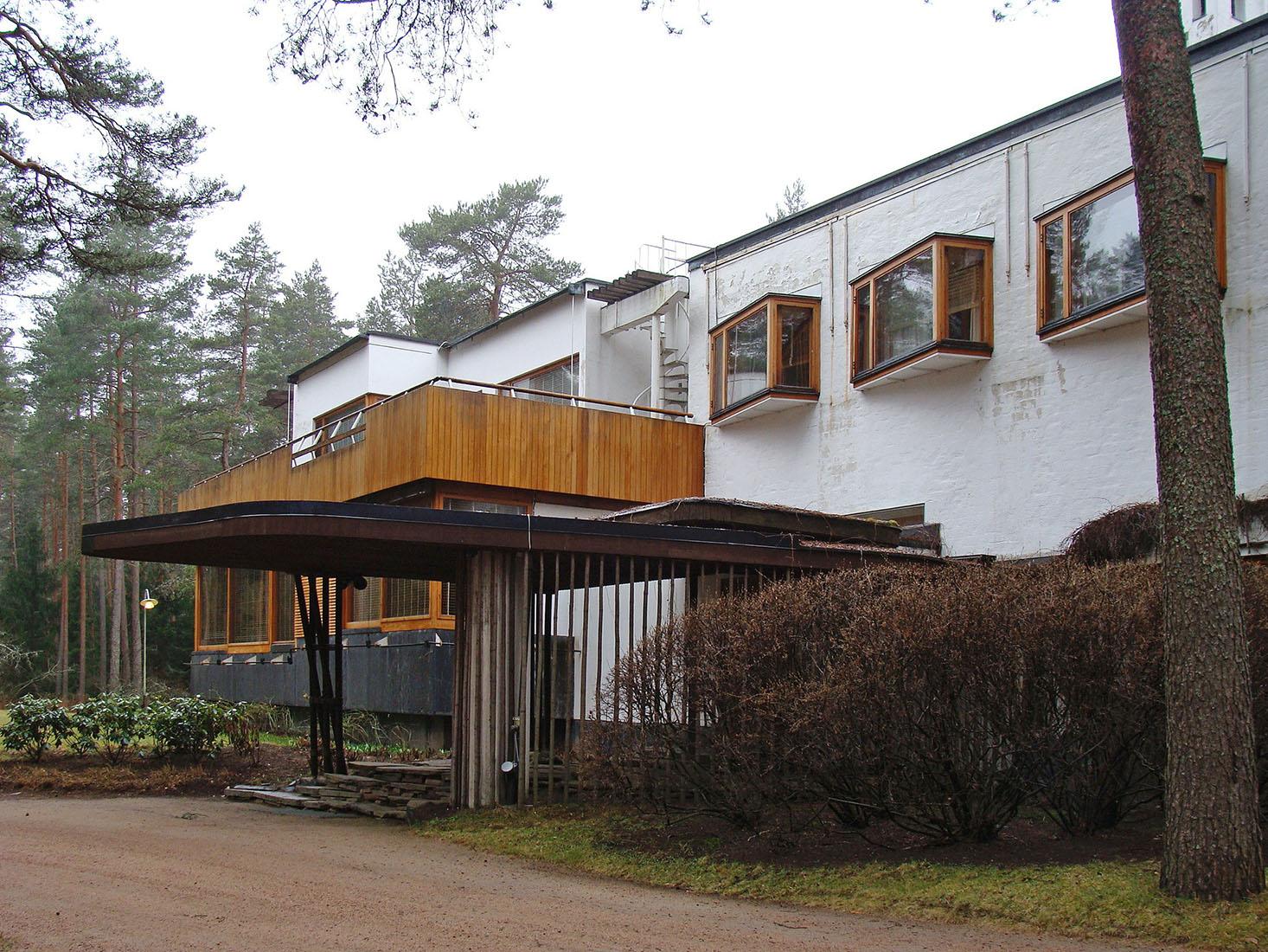 Www Archipicture Eu Alvar Aalto Villa Mairea