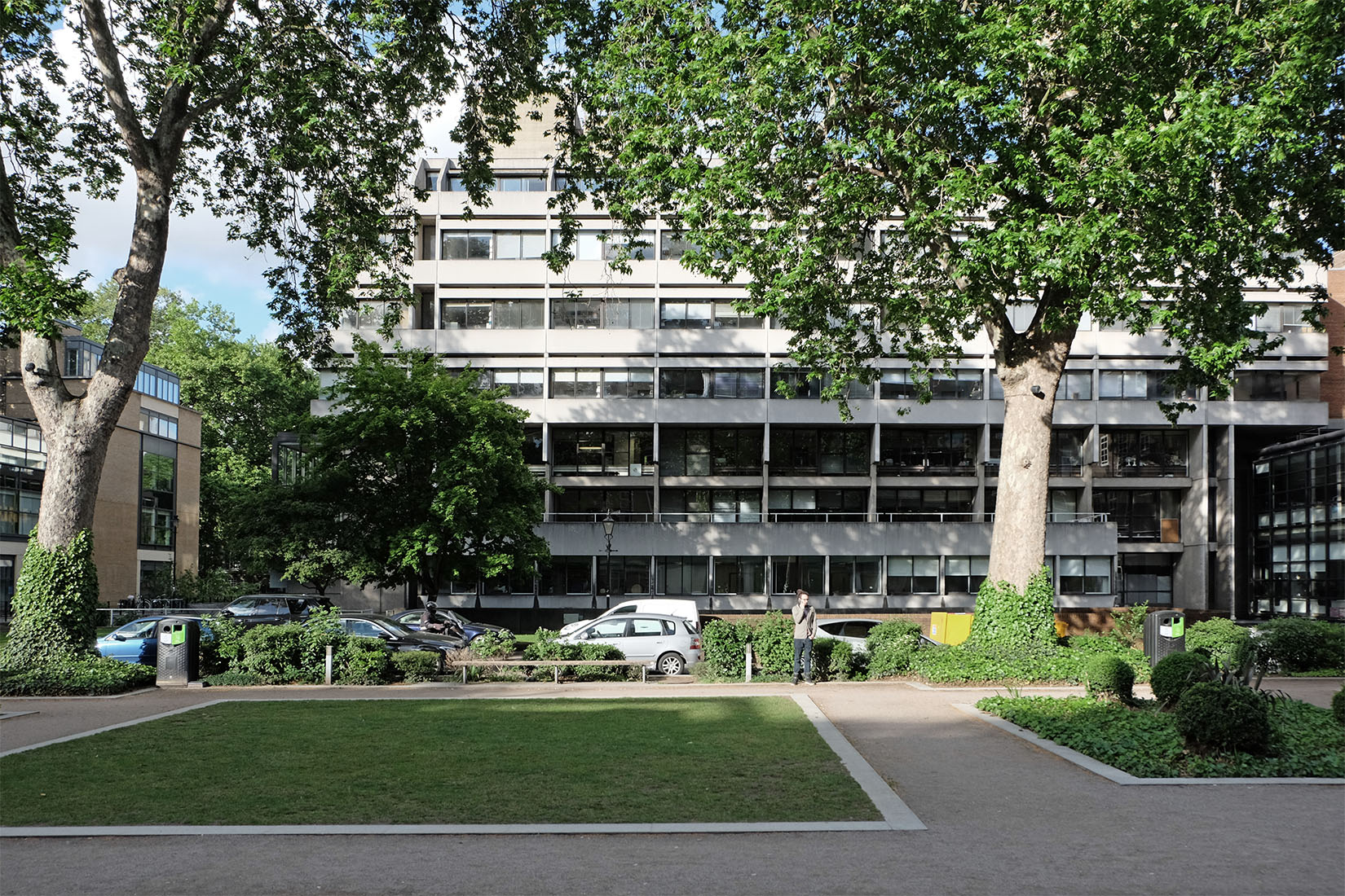 Denys Lasdun - Philips Building of School of Oriental and African Studies