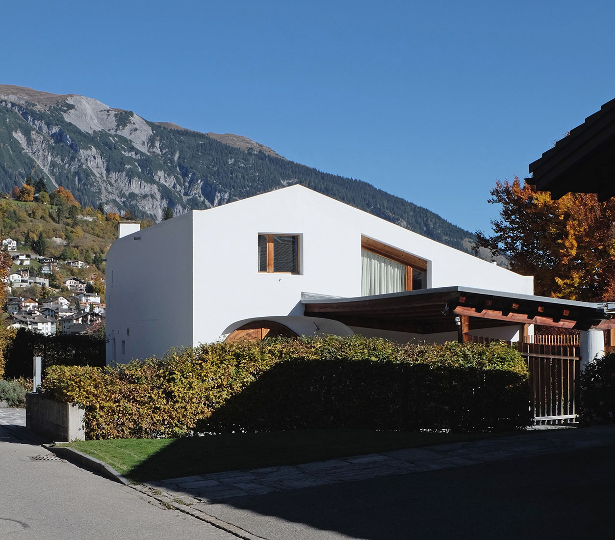 Rudolf Olgiati - G. Schaefer House Flims